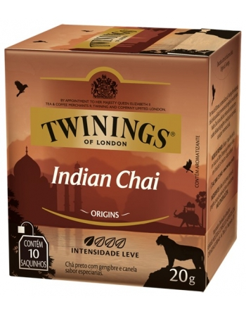 CHA TWININGS PRETO INDIAN CH 12DSX10X20G