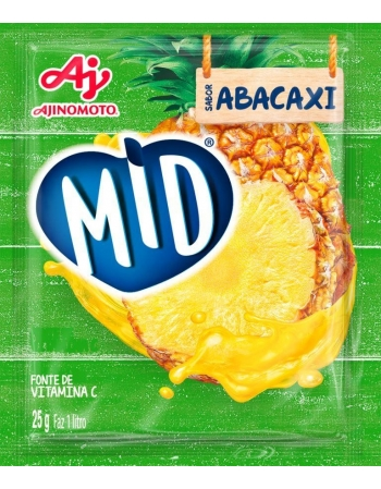 REFRESCO EM PO MID ABACAXI 08DSX15X25G