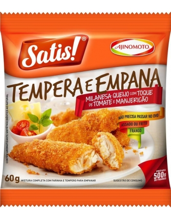 TEMPERO MILANESA SATIS QJ/TM/MJ 4X12X60G