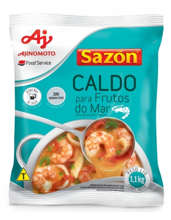 CALDO SAZON FRUTOS DO MAR 6X1.1 KG